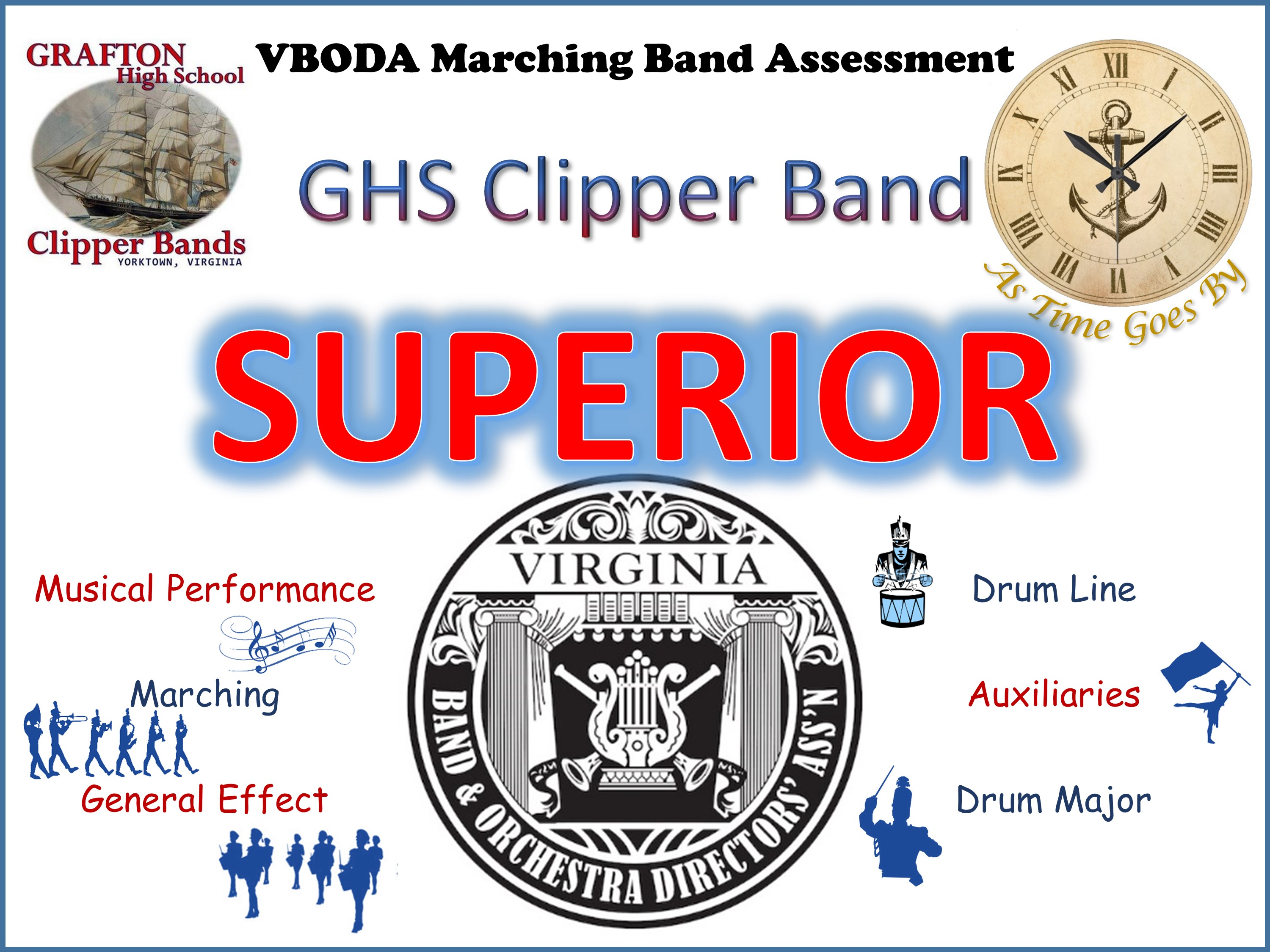 VBODA Marching Band Assessment