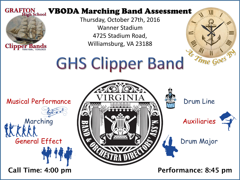 VBODA Marching Band Assessment